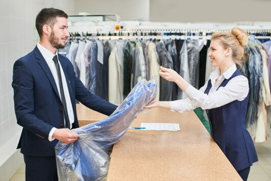 how often do i dry clean my suit, how to take care of a suit, can i iron my suit, how to store my suit, suit care tips